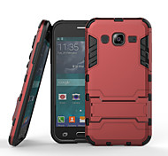 For Samsung Galaxy Case Shockproof / with Stand Case Back Cover Case Armor PC Samsung J3
