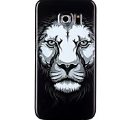 Lion Pattern TPU Phone Case for  Galaxy S6/Galaxy S6 edge/Galaxy S6 Edge Plus/Galaxy S5