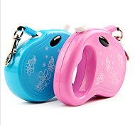 Dog Leashes Waterproof Blue / Pink Plastic / Nylon