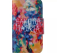 cuir de mobile de motif graffitis pour iPhone 4 / 4S