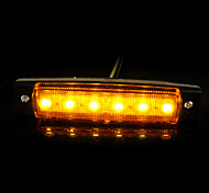 12v camions de voiture 6LED camions remorques marqueur de côté voyant len sidelamp nouvelle