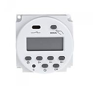 poder lcd digital de interruptor temporizador programable ac 220v-240v 16a
