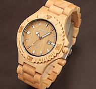 Men's Watch Quartz Fashion Watch Chronograph Leather Band Wrist watch