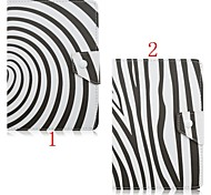 Zebra Pattern High Quality PU Leather with Stand Case for 7 Inch and 10 Inch Universal Tablet