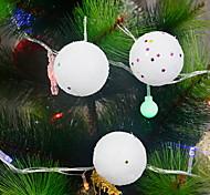 Navidad - Blanco - Fibra de Carbono - Fruta decorativa -
