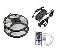 z®zdm 2 × 5m 150x5050 RGB SMD luce di striscia e il telecomando 44key eu ci uk au (AC110-240V)