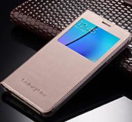 Original PU Leather Smart Auto-Sleep Full Body Flip Case for Samsung Galaxy On5 / Galaxy On7 (Assorted Colors)
