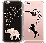 MAYCARI®Zoos in Dreams Transparent TPU Back Case for iPhone 5/iphone 5s(Assorted Colors)