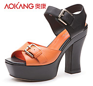 Aokang® Women's Leather Sandals - 132818093
