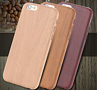 Fantasy Wood Skin Ultra Thin Protective PU Leather Armor Case for iPhone 6s 6 Plus