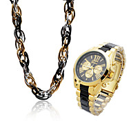 Women'S Watches, Necklace + Watches Set ,Jewelry Set Cool Watches Unique Watches