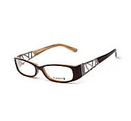[Free Lenses]  Women 's Acetate/Plastic / Metal Rectangle Full-Rim Classic / Fashion Prescription Eyeglasses