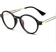 [Free Lenses]   Metal Round Full-Rim Retro/Vintage Prescription Eyeglasses
