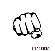 Funny Fist Car Sticker Car Window Wall Decal Car Styling