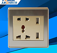 USB CHARGING SOCKET WELL (B6 STAINLESS STEEL)