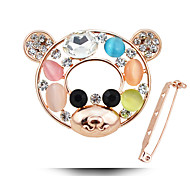Super Cute Adorable Korean Fashion Opal Brooch