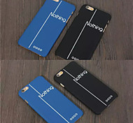 Screen Feel Comfortable High Quality PC Phone Case for iPhone 6/6S(Assorted Colors)