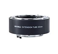 kooka kk n25-af bronze tubo de extensão com exposição automática TTL para Nikon câmeras SLR 25 milímetros de entrada