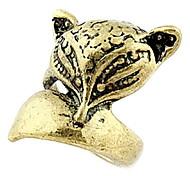 Fox Bronze Alloy Fashion Ring