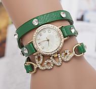 donna orologio da polso con diamanti