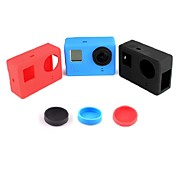Gopro Accessories Lens Cap / Bags/Case For Gopro Hero 4 Silicone