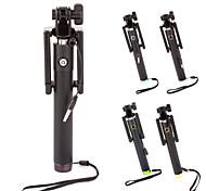 Retractable Mini 3.5mm Plug Selfie Stick Monopod for Smart Phones