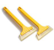 LEBOSH Car Long Handle Shovel Deicing Shovel 16cm Tendon Ice Shovel