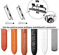 Adapter Connector Steel Buckle Watchband for Apple Watch iWatch Strap 42mm/38MM