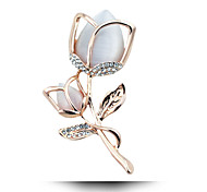 In 2015 The New Tulip Flower Brooch Brooch Jewelry