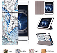 Top Selling Flip Smart Stand PU Leather Case for iPad Mini 4 (Assorted Colors)