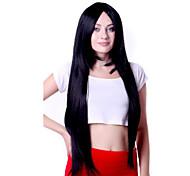 жен. Черный Прямые Естественные прямые Искусственные волосы Без шапочки-основы