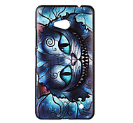 Mechanical Cat Patter Pattern PC Soft Case for Microsoft Lumia 640