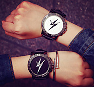 Korea New Lightning Men Analog Quartz Wrist Watch Women Watch Student Watch Couple  Watch(Assorted Colors)