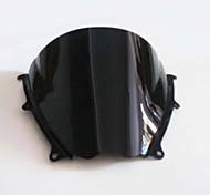 Black Motorcycle Windshield Wind Screen for Suzuki GSXR1000 GSXR 1000 2007 2008 Brand New