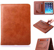 Multifunctional Stand Super Slim Leather Case for Apple iPad Mini 4  (Assorted Colors)
