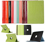 12.9 Inch Crocodile Skin Pattern High Quality Case with Hold for iPad Pro(Assorted Colors)