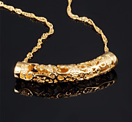 Good Luck Ms Vacuum Plating 18 K Gold Don't Rub Necklace