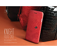 SBPRC KNIGHT Snake pattern  Import PU PC flip Case for Apple Iphone6S