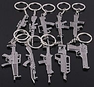 Guns Shape Keychain Random Type  60*40*5mm