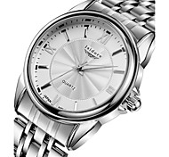 Men's Fashion Casual Water Resistant Stainless Steel Wrist Watch Cool Watch Unique Watch