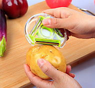 1 Piece Peeler & Grater For Vegetable / Fruit Stainless Steel High Quality / Creative Kitchen Gadget