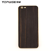 Topwise® Wooden Back Cover For iPhone 6/6S 4.7 Black Color