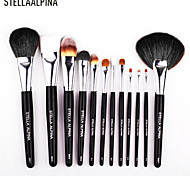 Stellaalpina Makeup Brush Sets Of Brush MAC Makeup Style Professional Makeup Brush 12Pcs