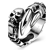 Skeleton Claws Restoring Ancient Ways is Exaggerated Stainless Steel Men's Ring