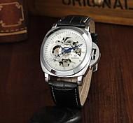 Life Waterproof Hollow Men Belt Automatic Mechanical Watch Classic Retro Wrist Watch Cool Watch Unique Watch
