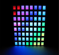 8x8 RGB Square LED Dot Matrix for Arduino - Black + White