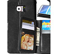 Luxury PU Leather Flip Cover 9 Card Holders Wallet Case For Samsung Galaxy S4/S5/S6/S6 Edge/S6 Edge Plus