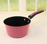 Titanium Rosy Long Handle Soup Pot Pancakes Fried Egg Milk Pan Pan Pan Stir Fry Pan