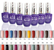 1 pcs ana 192 couleurs nail art gelpolish ongles en gel uv tremper hors de 15ml 169-192