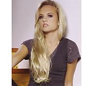 жен. Парики из искусственных волос Без шапочки-основы Длиный Прямые Блондинка Карнавальные парики